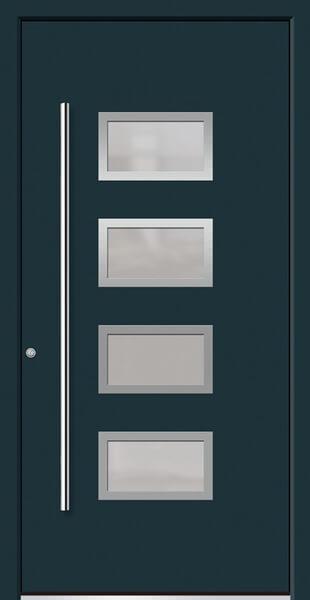 Topline: Aluminium Haustüre