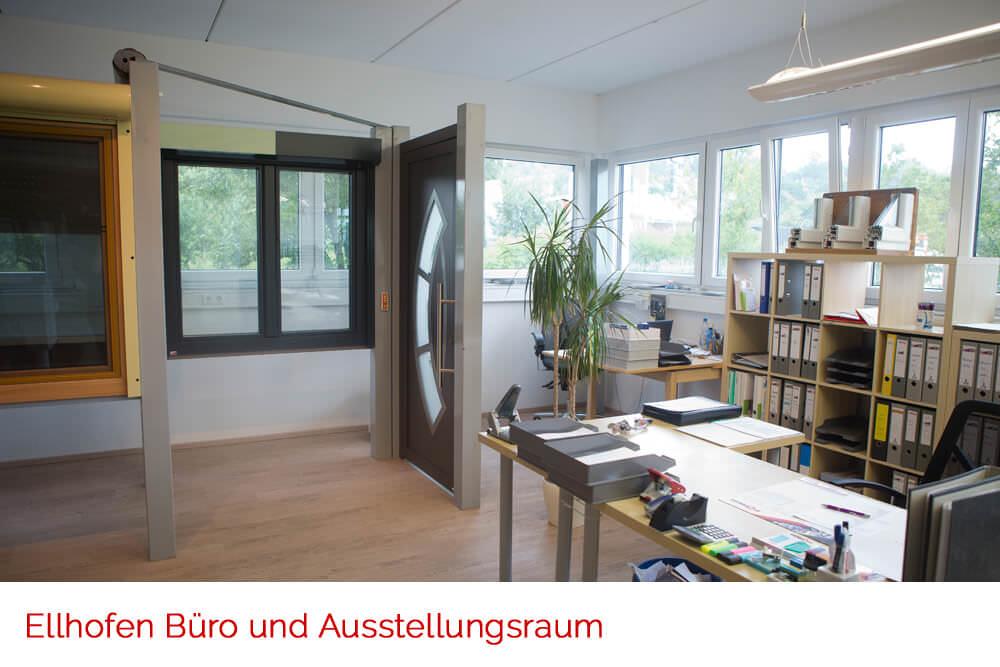 Ausstellungsraum - Fenster Ellhofen
