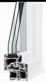 Fenster Heilbronn DIAMANT Energeto M193 3-Fachverglasung