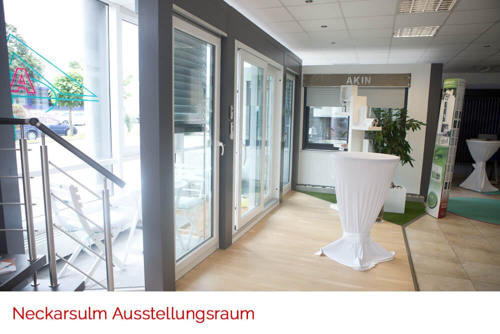 Ausstellungsraum - Fenster Neckarsulm